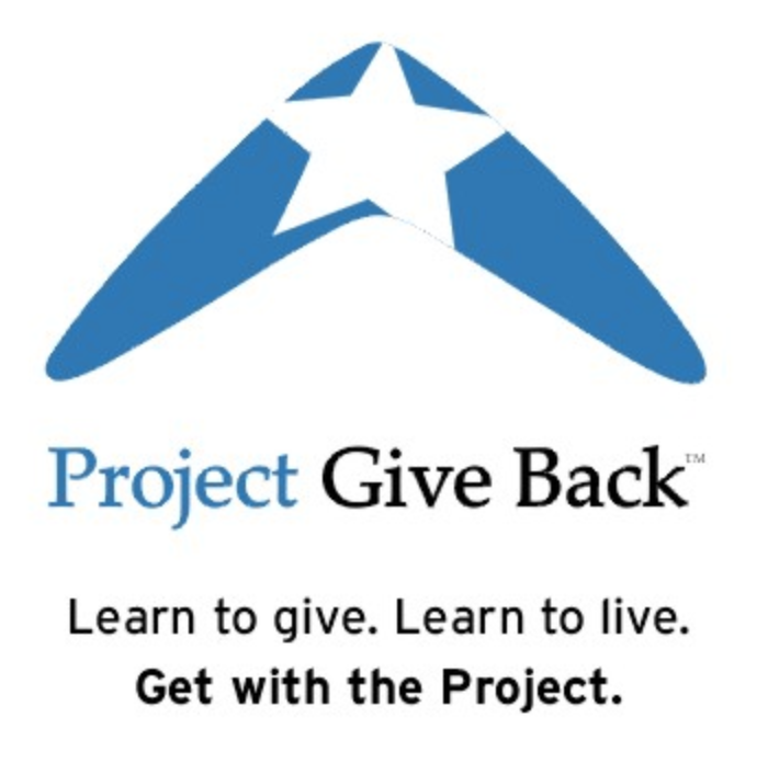 Project Give Back Logo