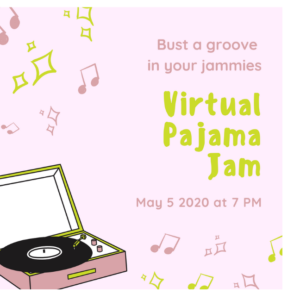 Virtual Birthday Party Invitations