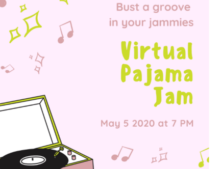 Virtual Birthday Party Invitations